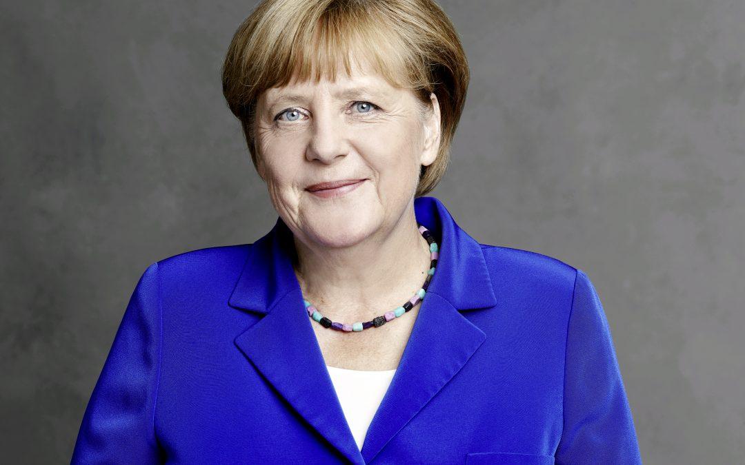 Angela Merkel spricht sich für eine zügige Digitalisierung des Gesundheitswesens aus