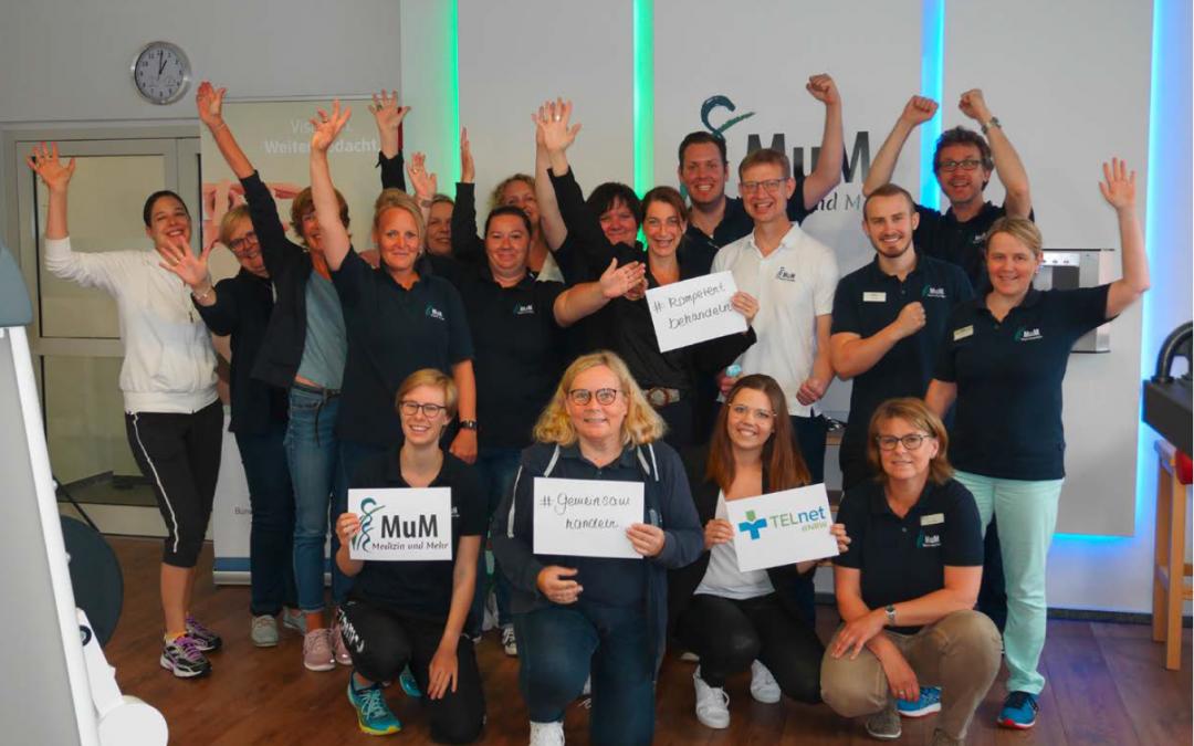 TELnet@NRW belegt 3. Platz beim MSD Gesundheitspreis