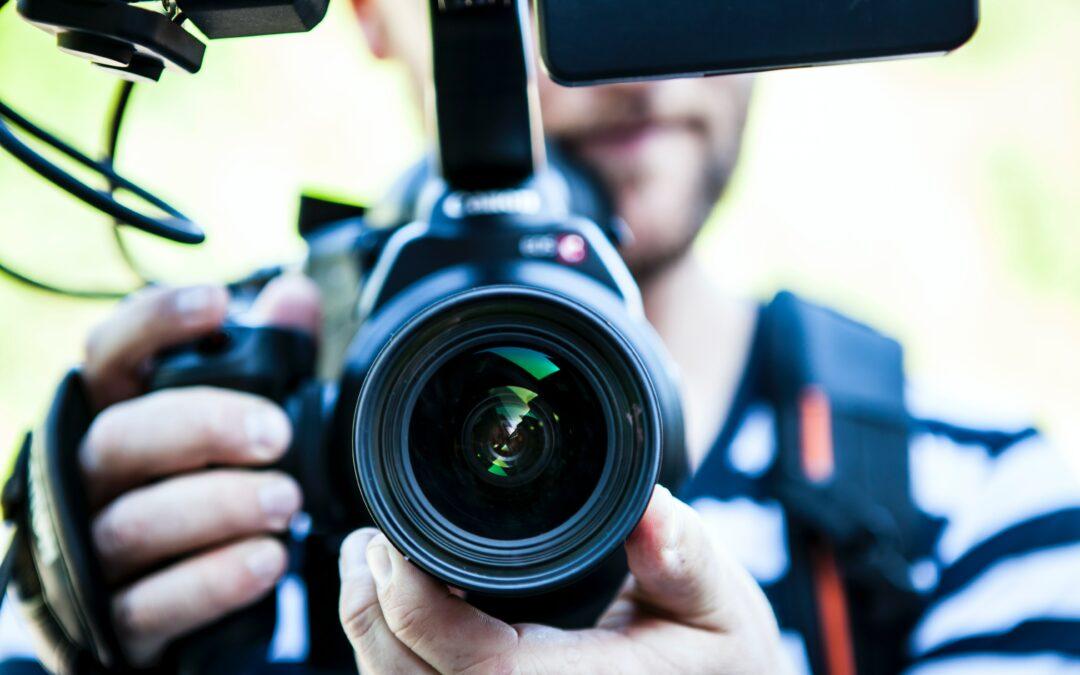 Kameralinse von vorne