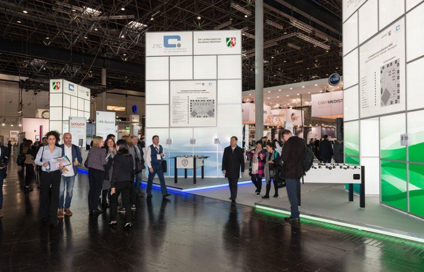 Landesgemeinschaftsstand NRW auf der MEDICA 2018 – TELnet@NRW ist mit dabei