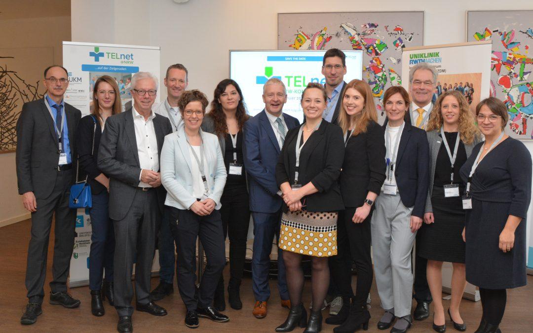 TELnet@NRW beim Nationalen Fachkongress Telemedizin