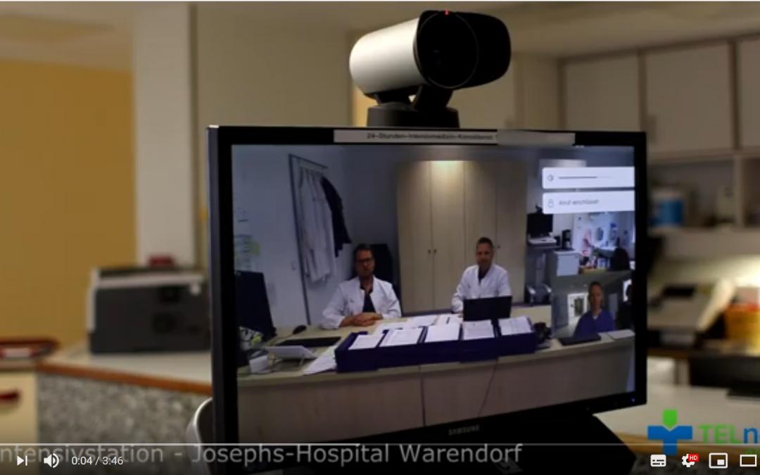 10.000 Patienten telemedizinisch betreut – TELnet@NRW-Film zeigt: Gemeinsam kompetent behandeln