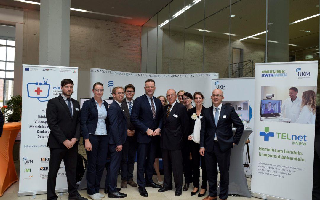 UKM zeigt Telemedizin-Projekte auf Gesundheitsgipfel in Nordhorn