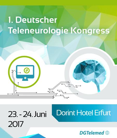 1. Deutscher Teleneurologie Kongress – TELnet@NRW ist mit dabei